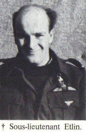Sous Lieutenant Robert Etlin