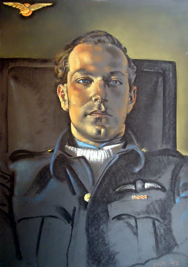 Govert Steen in RAF uniform