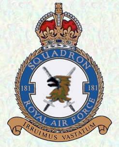 badge 181 Squadron