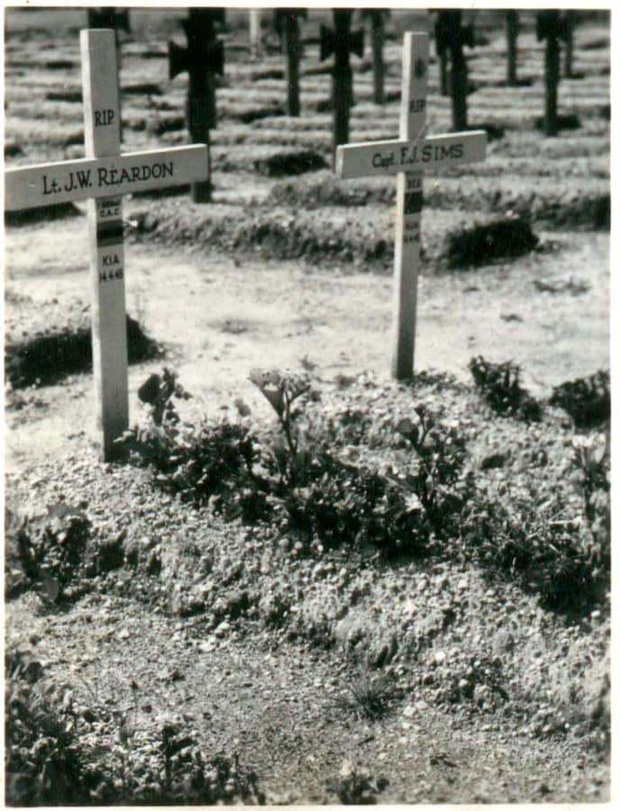 veldgraven Reardon en Sims, St Josephstichting (foto Jo Sheehan)