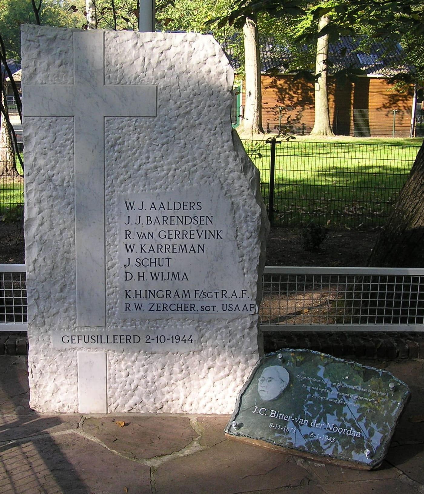 Herdenking executie 2 oktober 1944