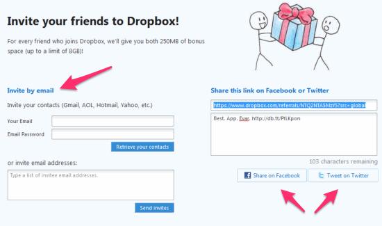 dropbox-referrals-multiple-ways