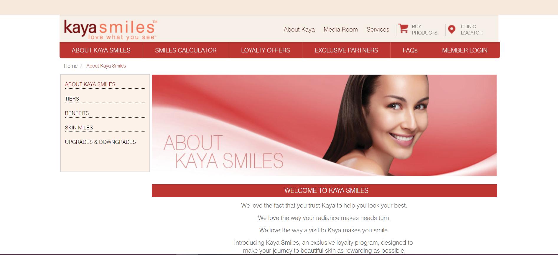Kaya Smiles Rewards Program 1