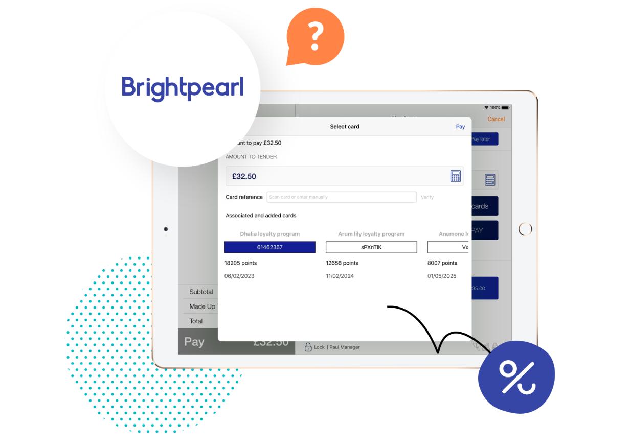 Brightpearl partnership