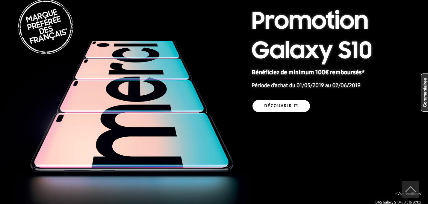 Samsung D2C Promotions and Discounts