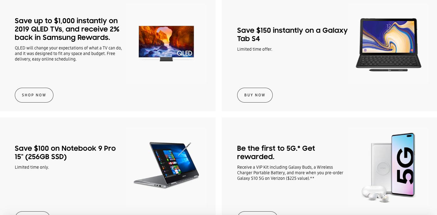 Samsung D2C Rewards