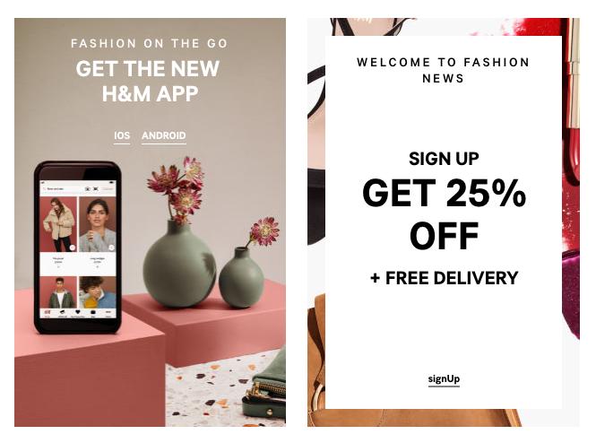 H&M regular saving club campaign promo