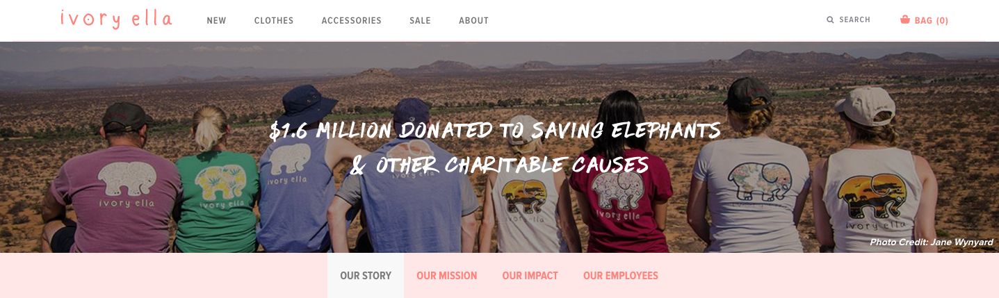 Creating dedicated, charity campaigns