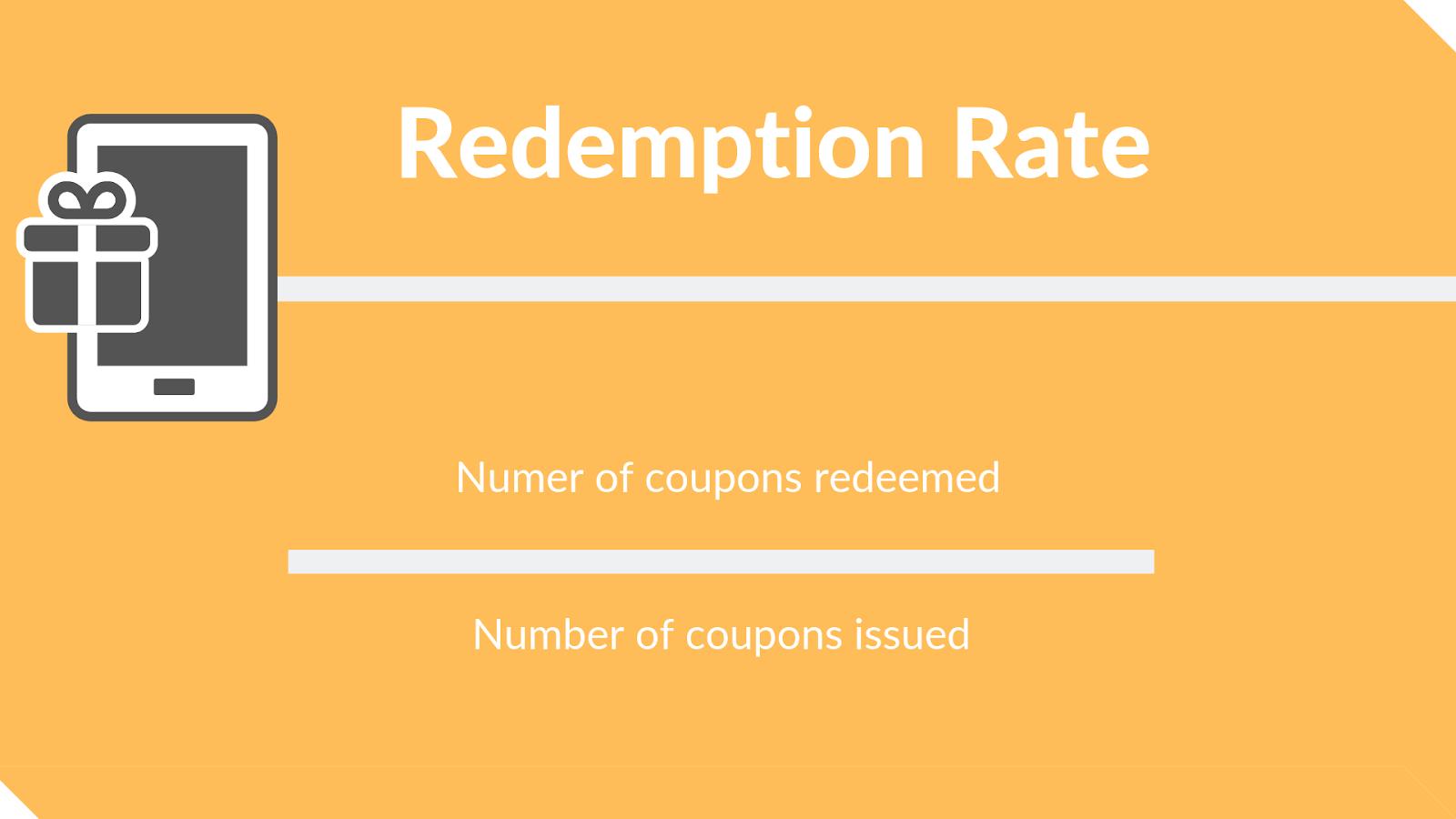 Redemption Rate - loyalty program metrics