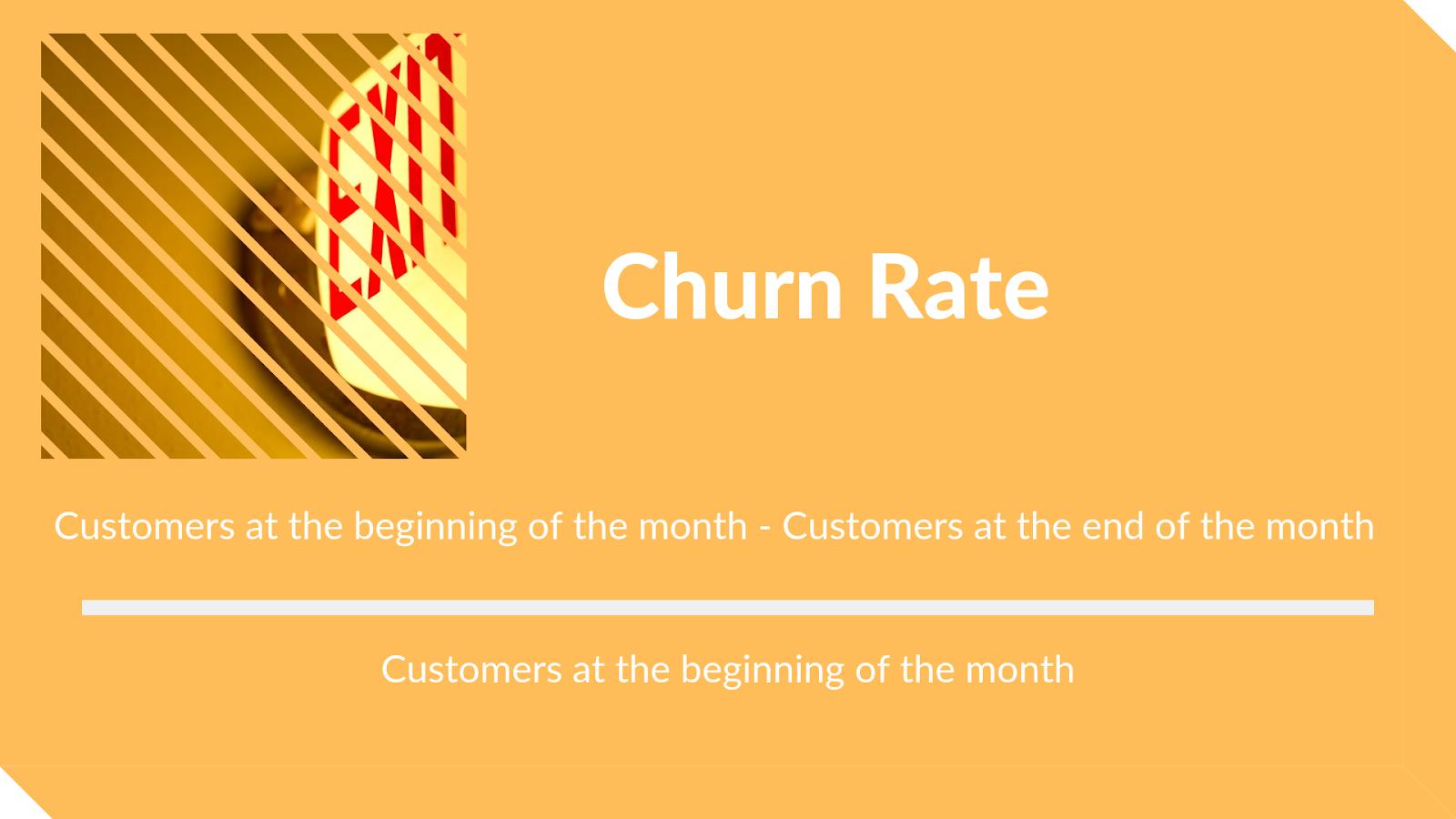Churn - loyalty metrics