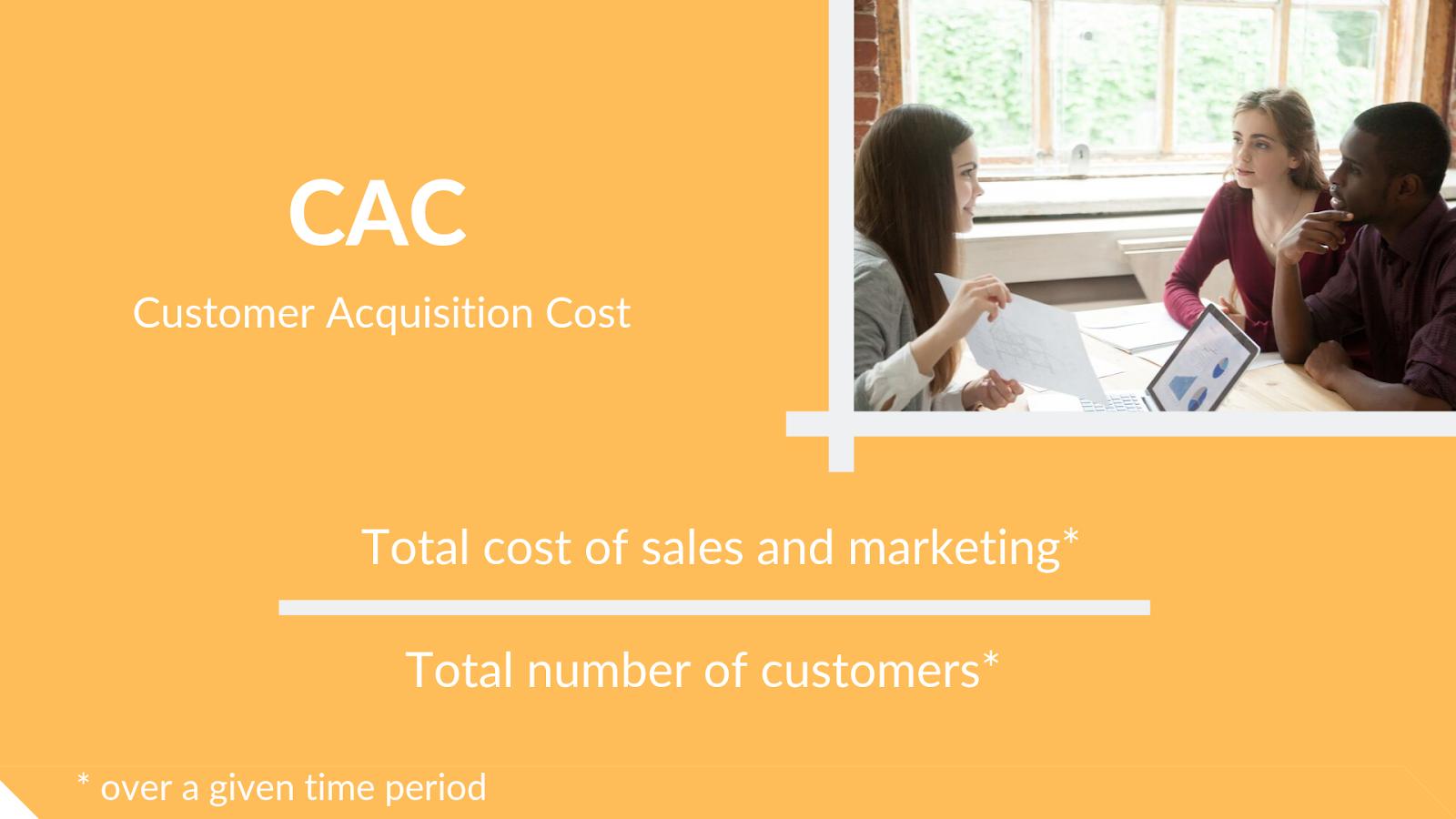 Customer Acquisition Cost - loyalty metrics