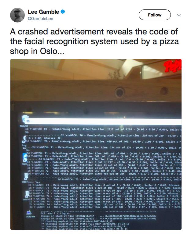 Logs for error handling