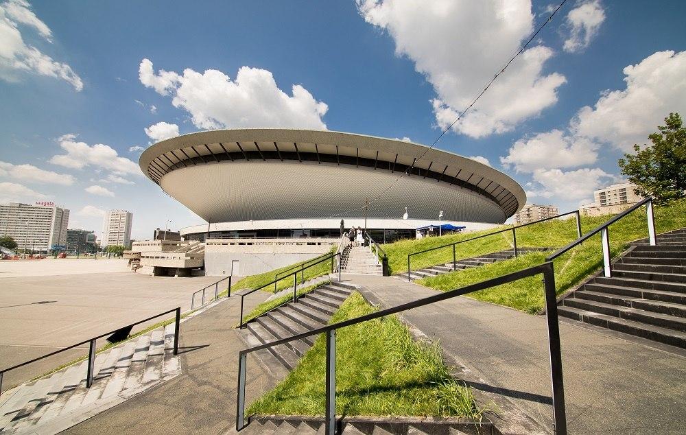 Spodek building in Katowice