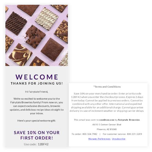 FairyTale Brownies promotions