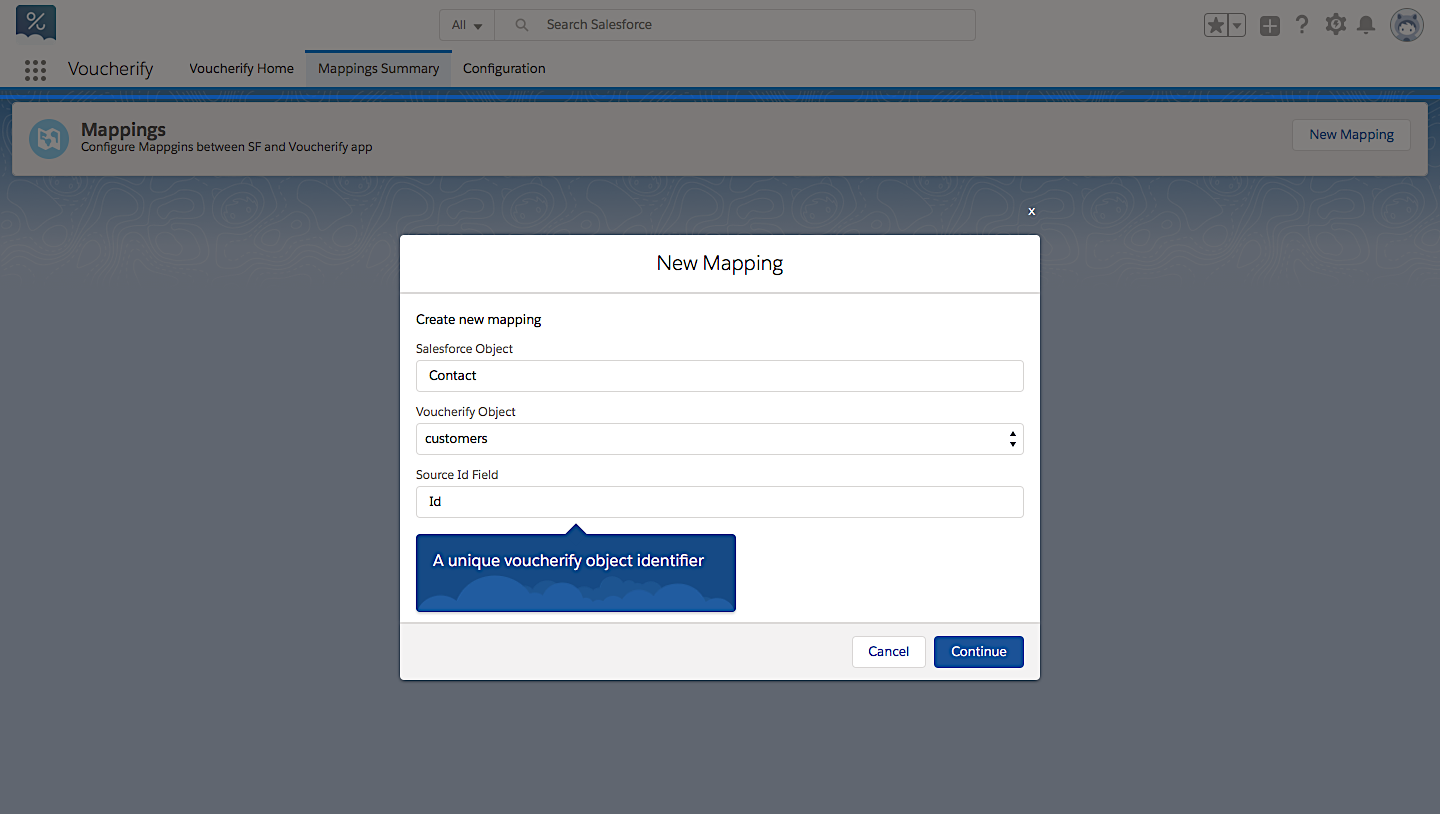 Map Voucherify objects to Salesforce data and enjoy 1:1 customer data accuracy