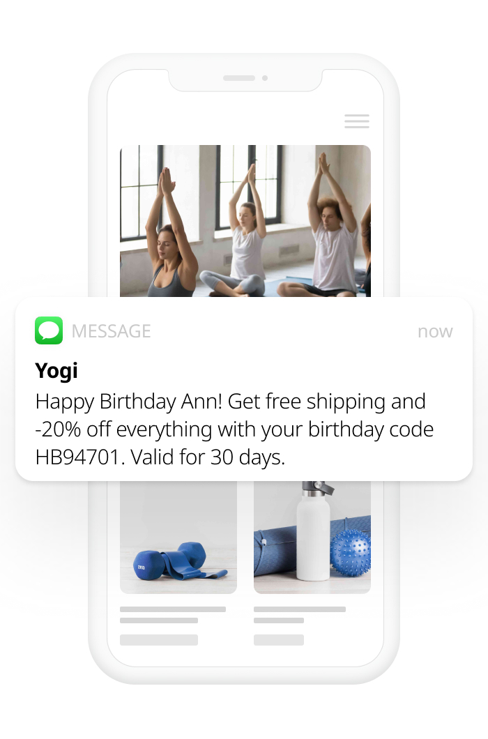 Birthday Coupon Campaign