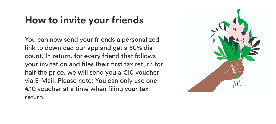 How to invite friends graphic