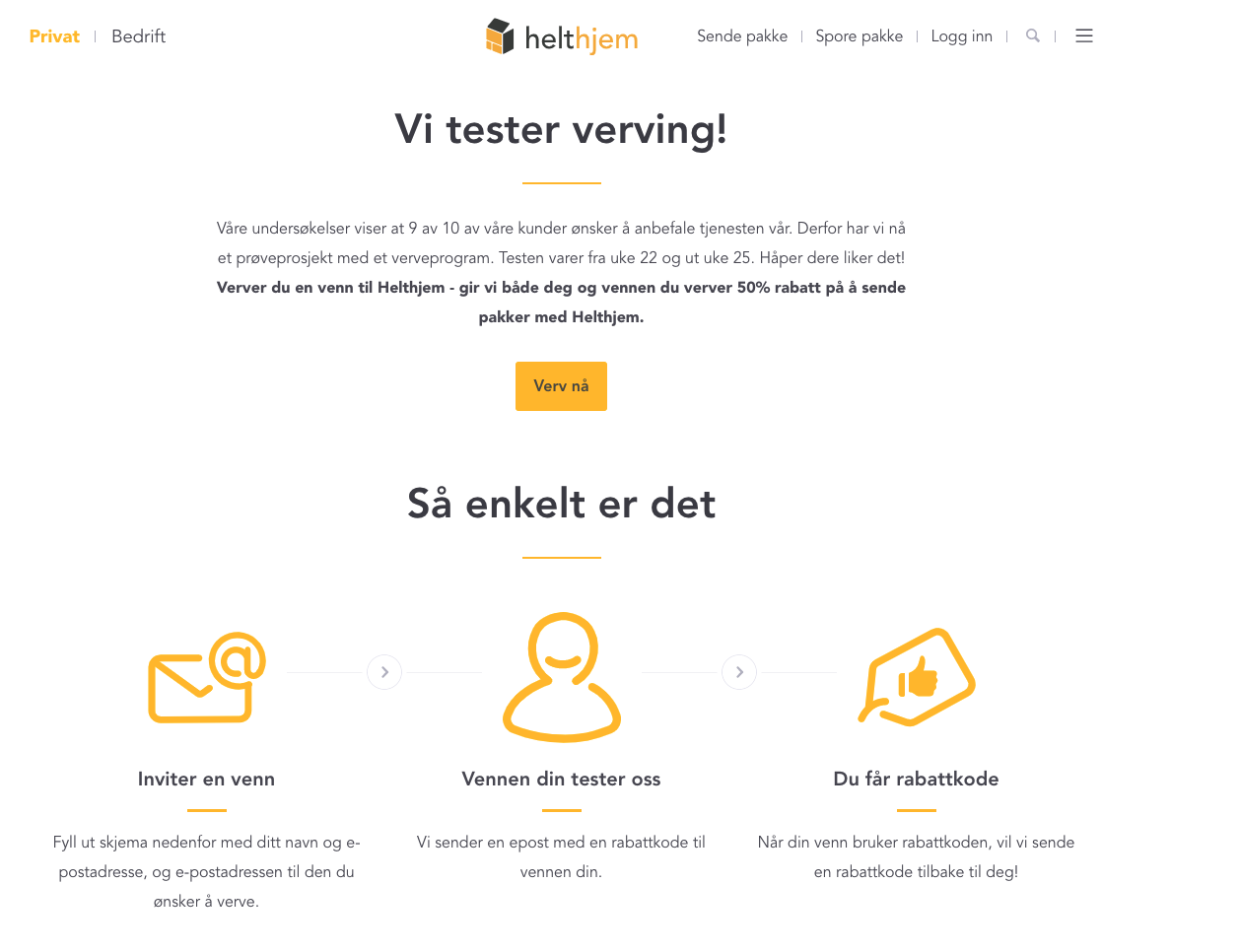 Helthjem referral rules