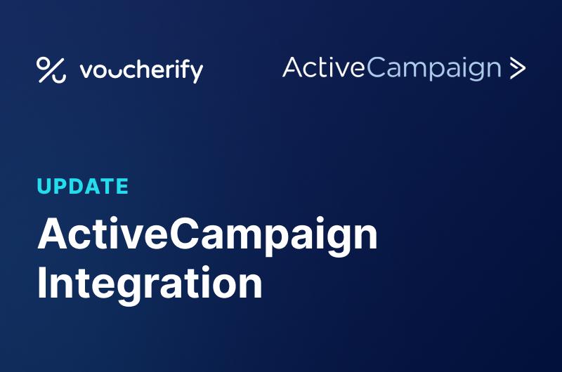 Voucherify & ActiveCampaign Press Release