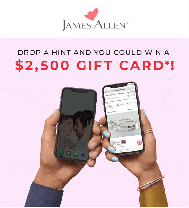 James Allen gift card giveaway 1