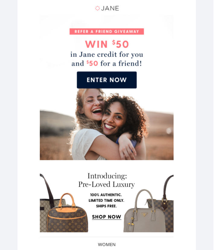 Jane gift card giveaway