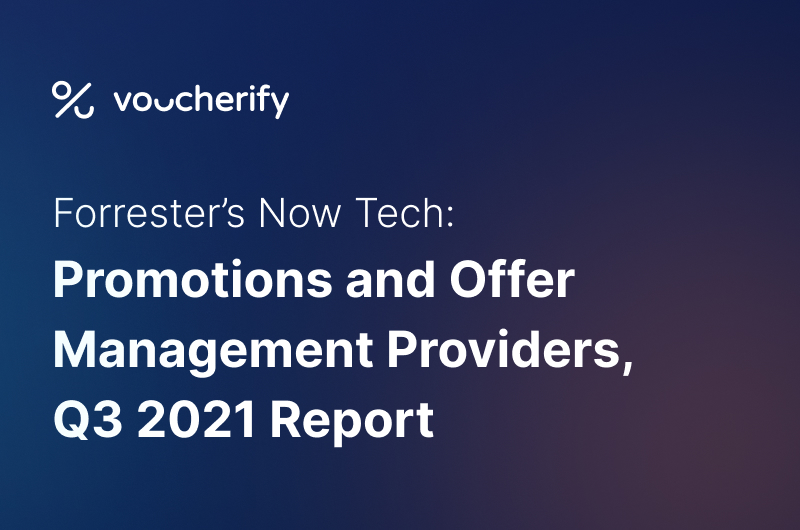 Voucherify Featured in Forrester's Now Tech: Promotions And Offer Management Providers