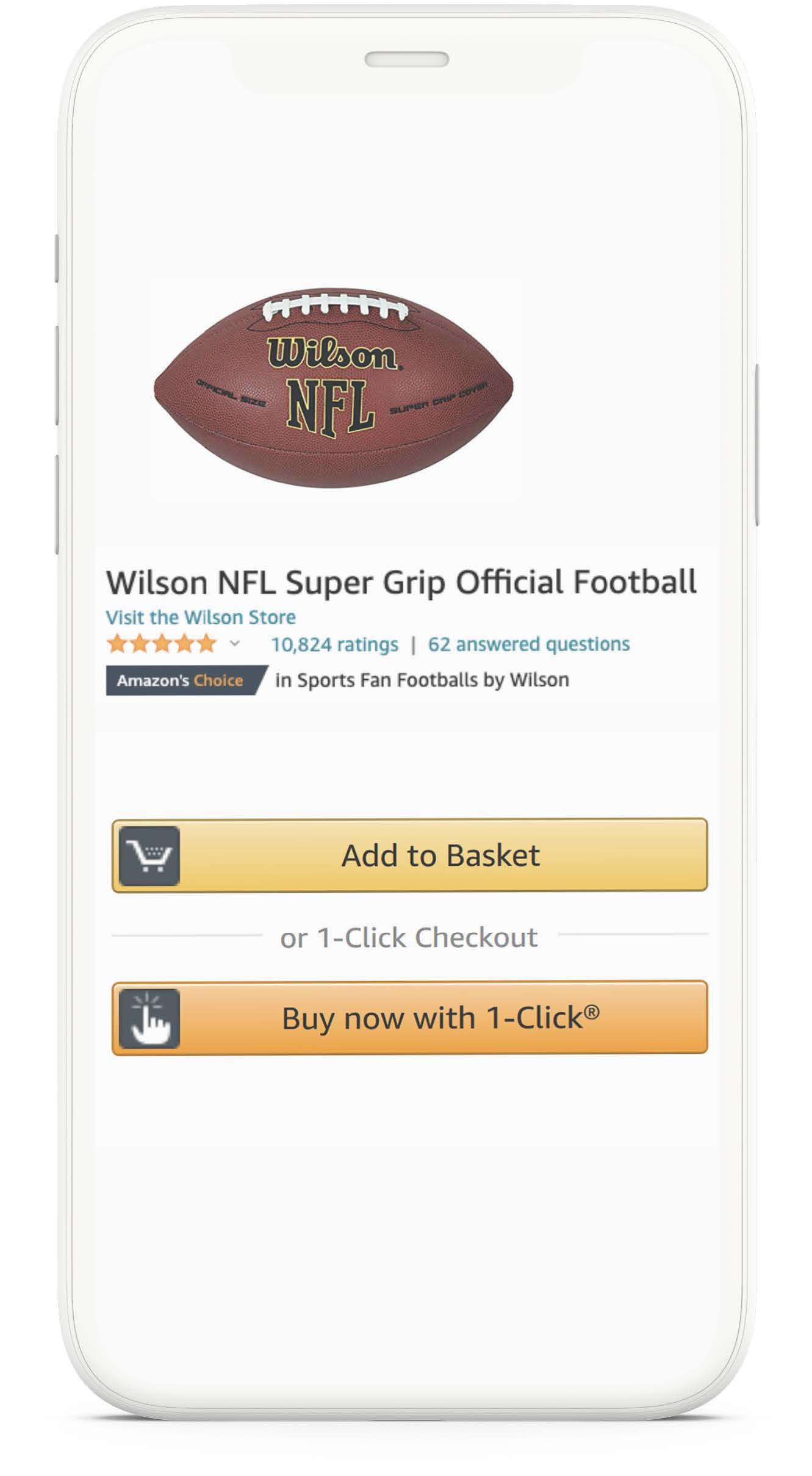 Amazon one-click purchase