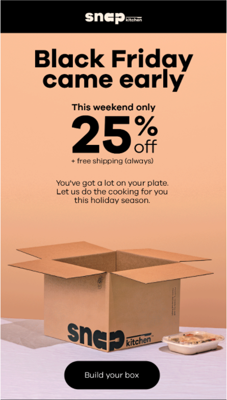 Automatic Black Friday Discount