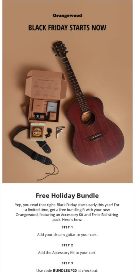 Orangewood promotion bundle