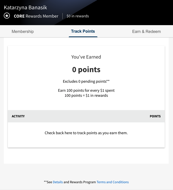 Gap customer portal