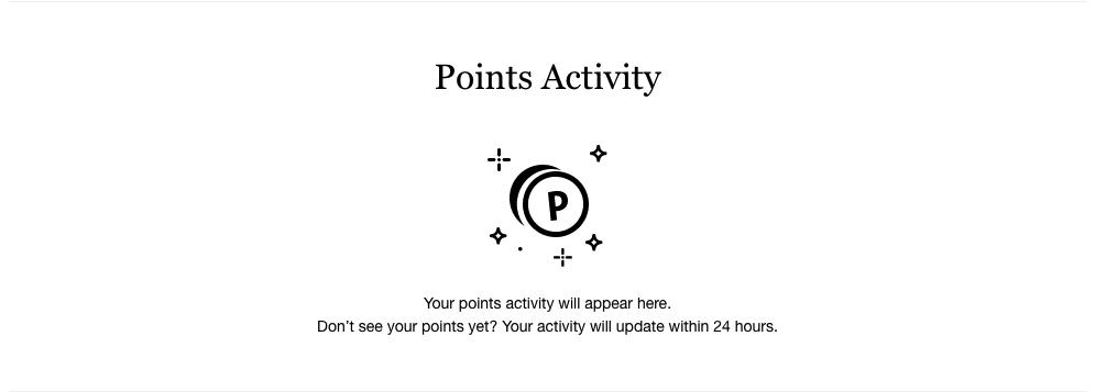 Sephora points activity