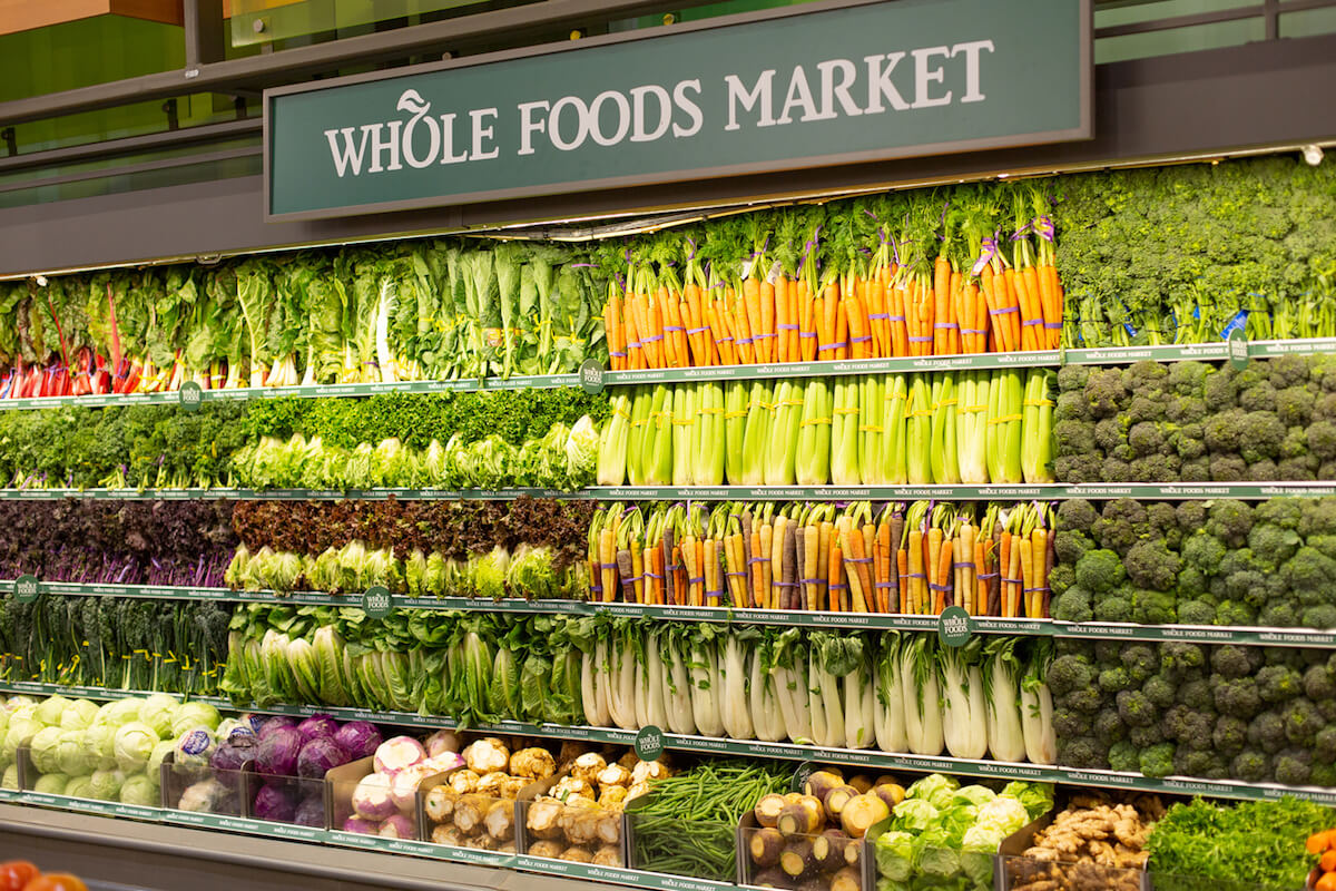 Wholefoods geofencing campaign
