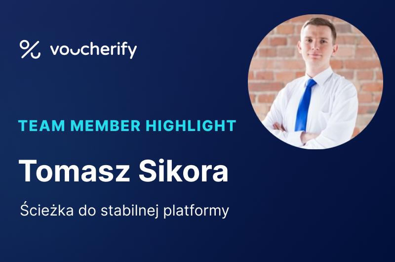 Voucherify pod maską: Tomek Sikora i jego ścieżka do stabilnej platformy