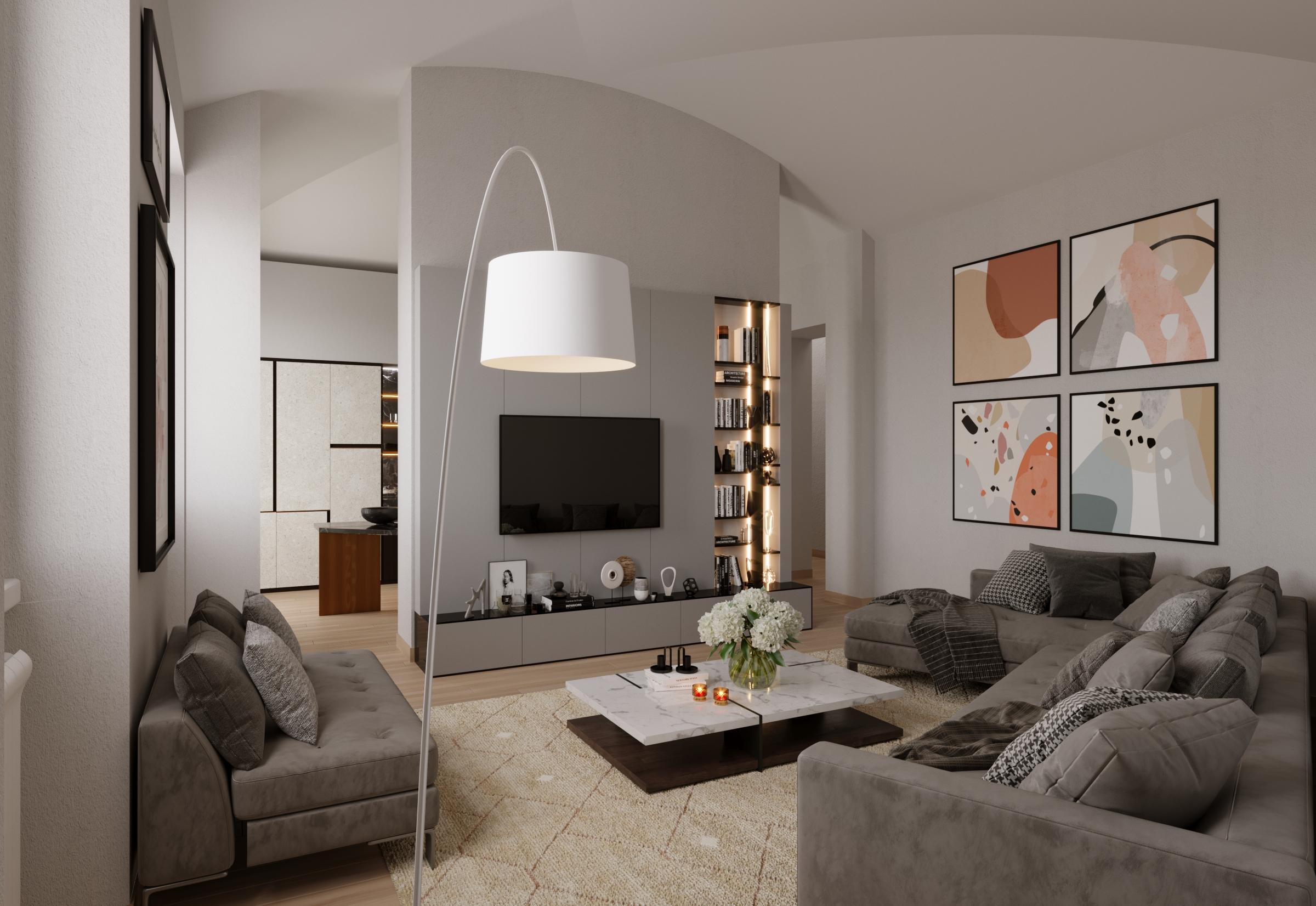 Appartamento da ristrutturare in zona Corso Garibaldi