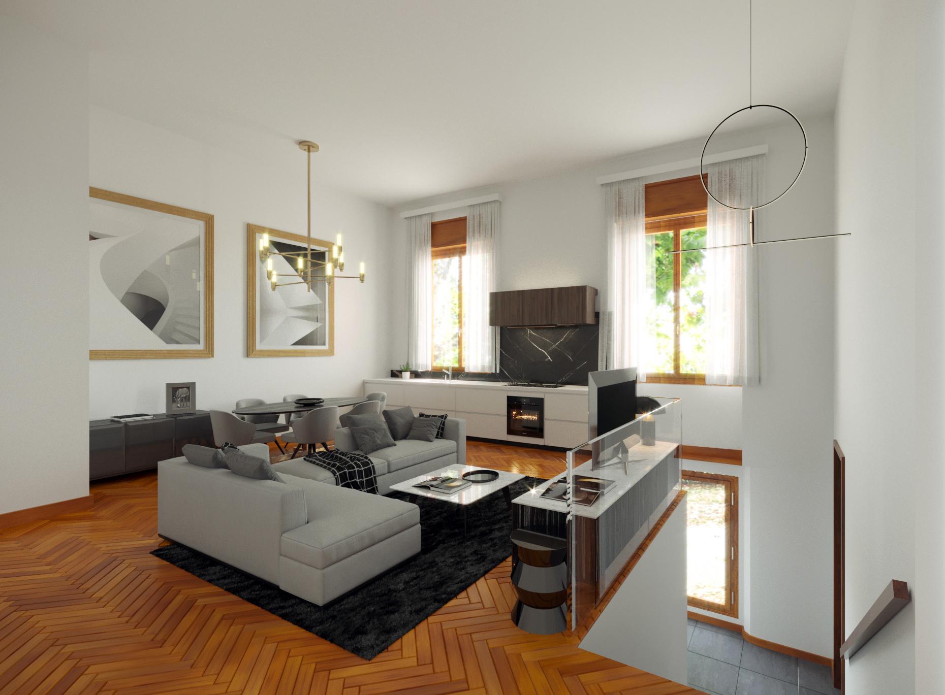 Prestigioso appartamento in Piazzale Libia