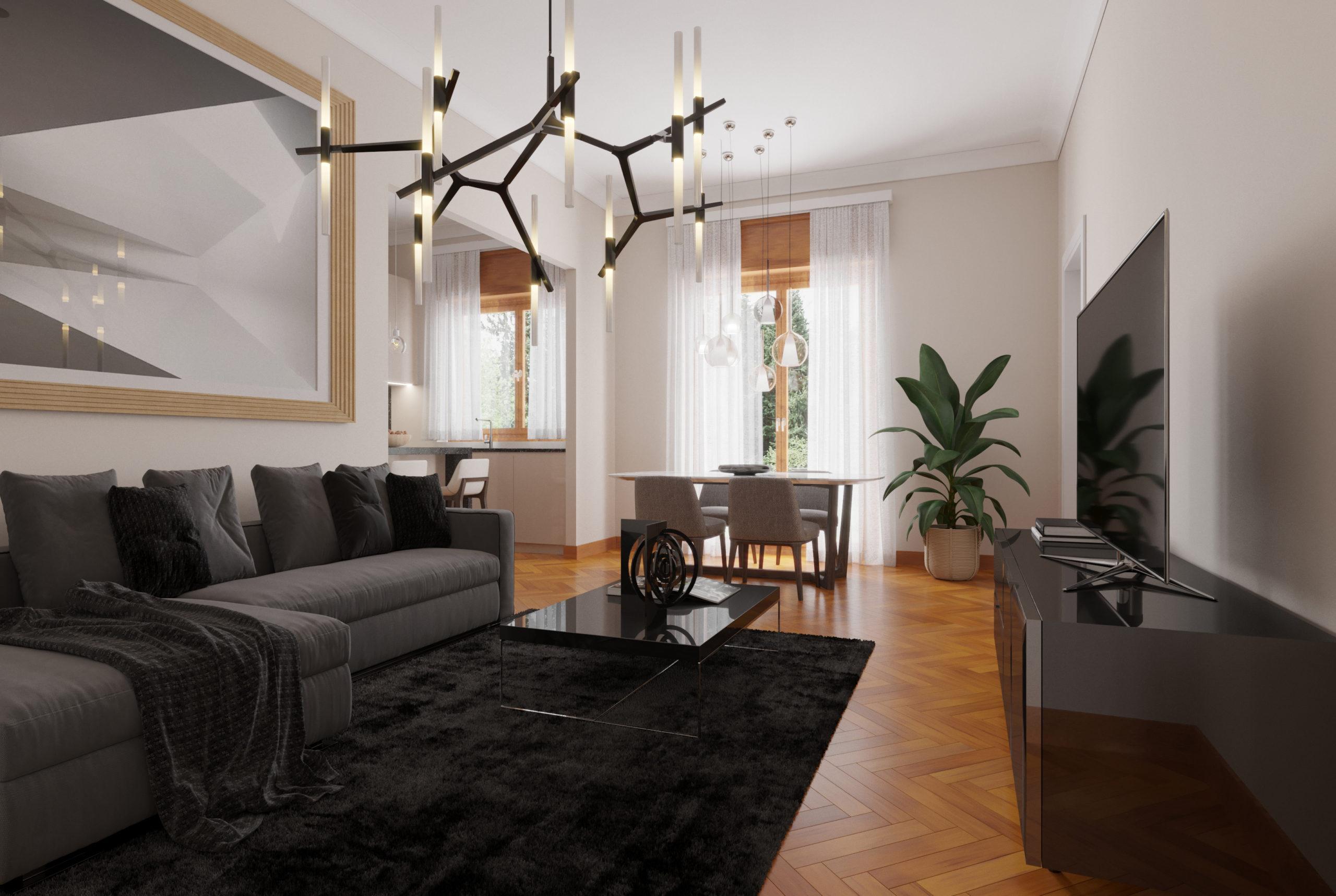 Elegante appartamento in Piazzale Libia