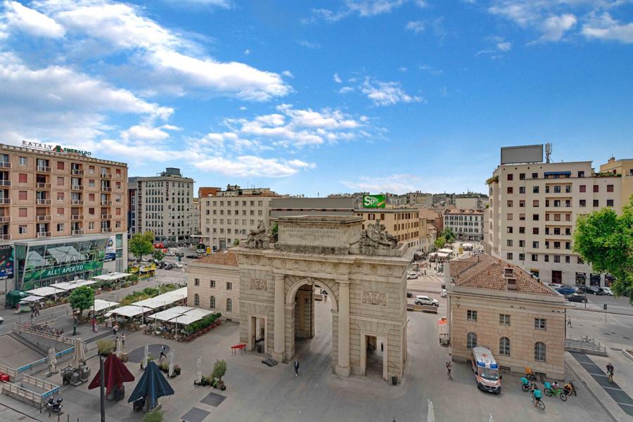 Luminoso bilocale in Porta Garibaldi