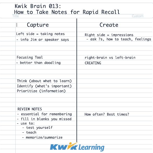 kwik-brain-notes