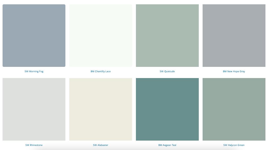 Favorite Coastal Paint Colors   MLR Design Interiors