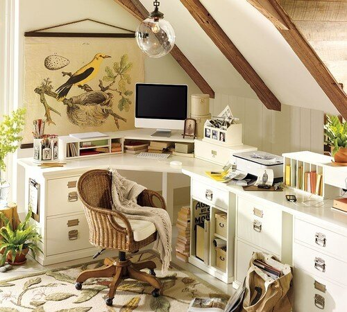 9 Tips To Designing A Productive And Healthy Attic Home Office