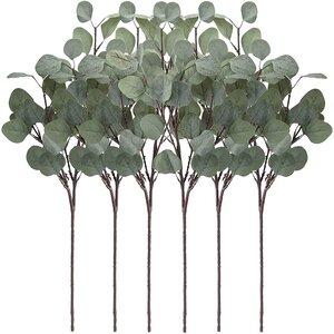 Eucalyptus greenery for mantle decor