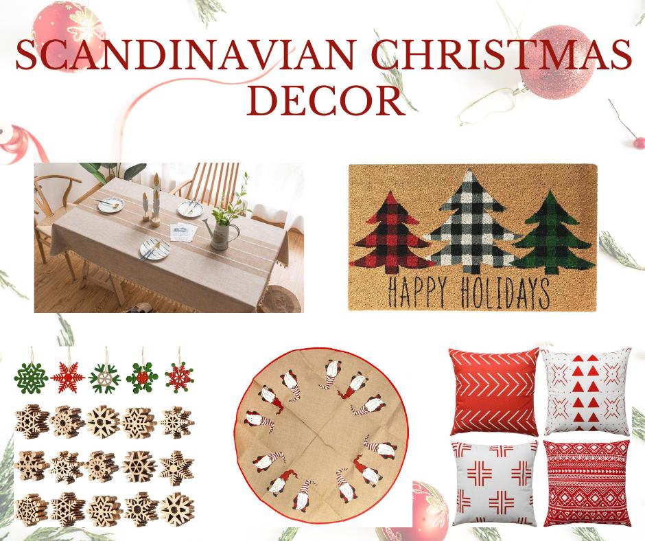 Scandinavian Christmas Decor   MLR Design Interiors