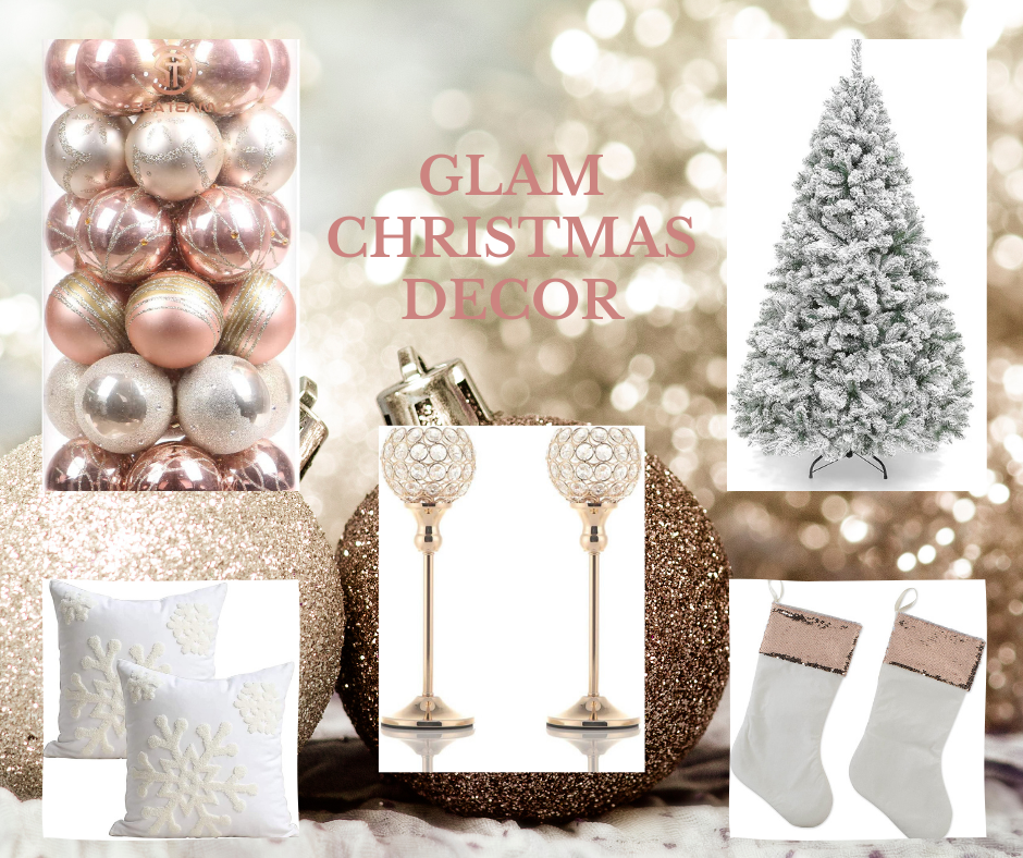 Glam Christmas Decor   MLR Design Interiors