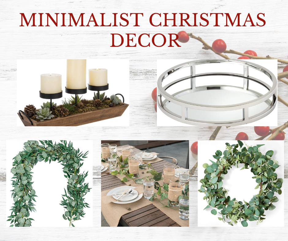 Minimalist Christmas Decor   MLR Design Interiors