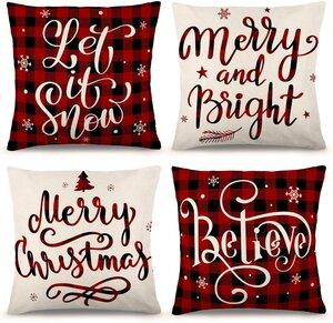 Traditional Christmas Pillows