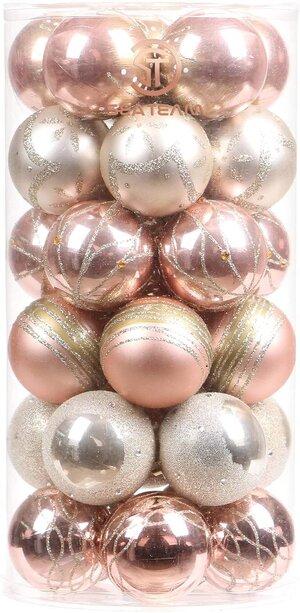 Glam Christmas Tree Ornaments