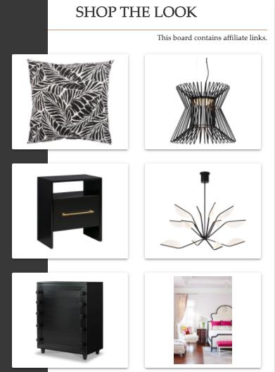 Shop the Look | Transitional Bedroom | MLR Design Interiors