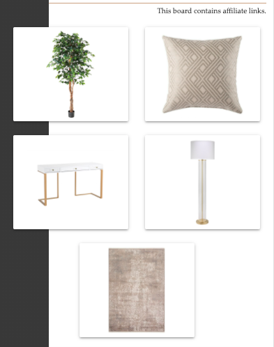 Shop the Look | Transitional Office/Guest Room | MLR Design Interiors