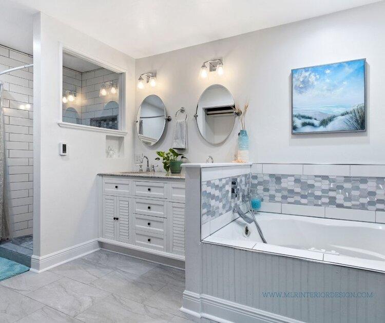 Exclusive Behind The Scenes Look At A Coastal Bathroom Remodel