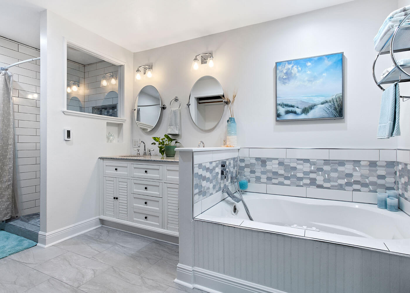 Coastal Master Bathroom